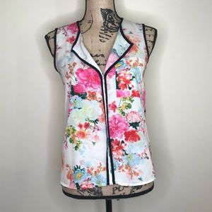 H&M Floral Sleeveless Blouse (4)